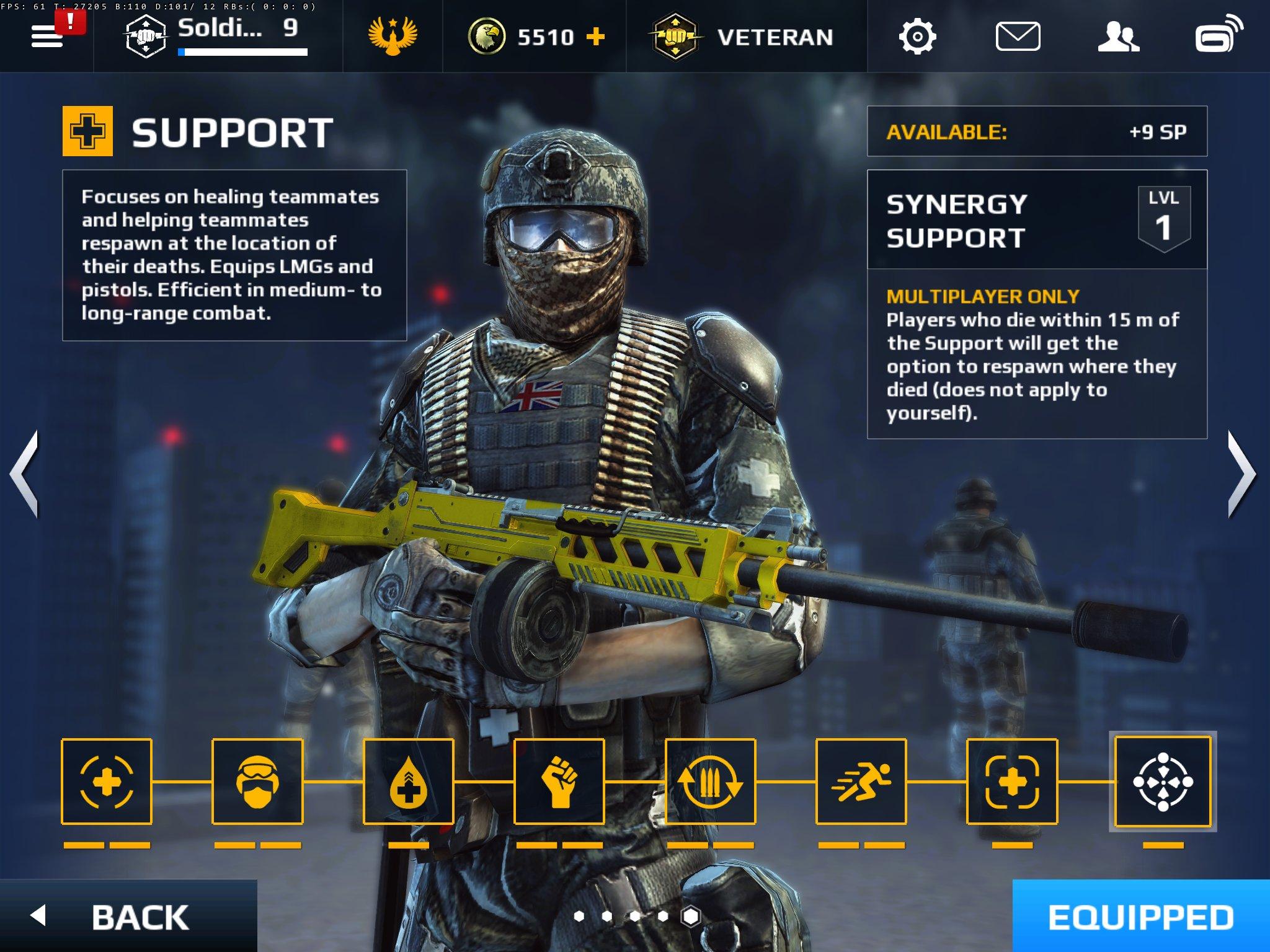 MC5 Support