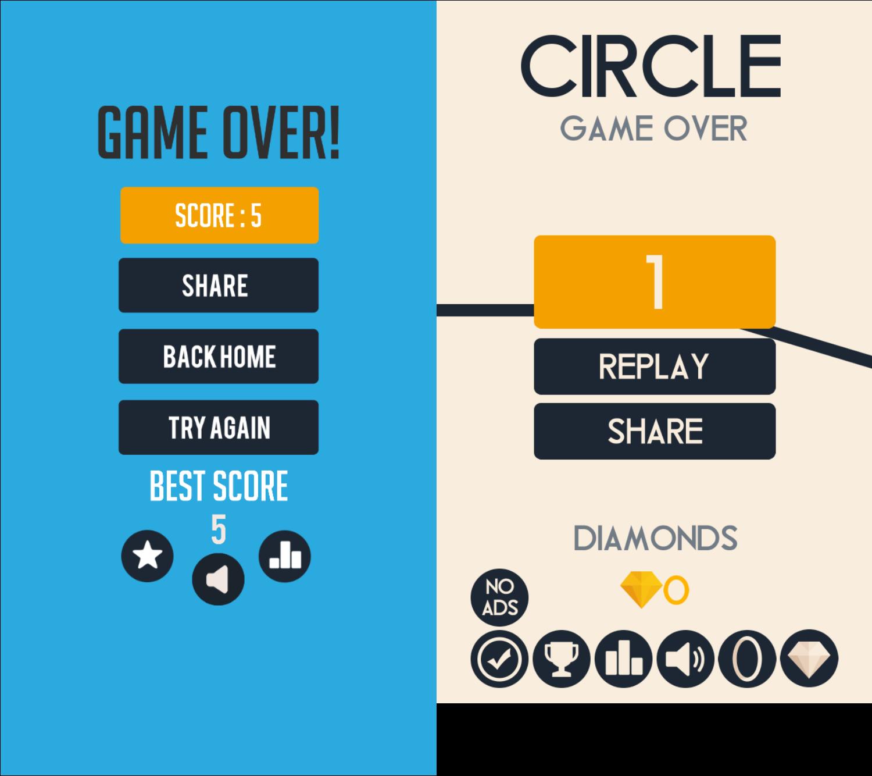 Circle Pong vs. Circle