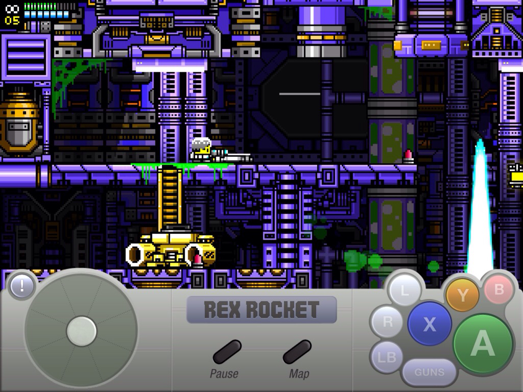 'Rex Rocket' For iPad Review - Mega Man Meets Metroidvania In This Excellent Action Adventure