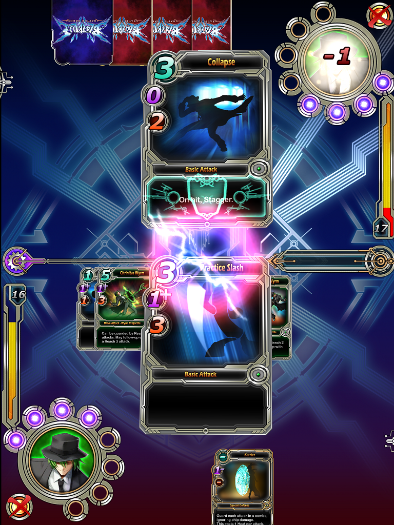 BlazBlue Battle Cards 1