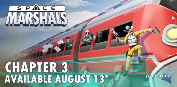 'Space Marshals' Chapter 3 Launching as a Free Update August 13th