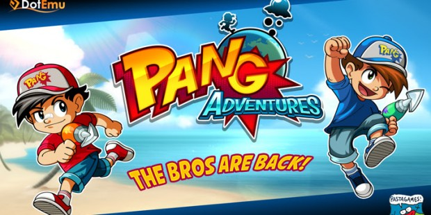 'Pang' aka 'Buster Bros' Set to Return with 'Pang Adventures' from DotEmu and Pastagames