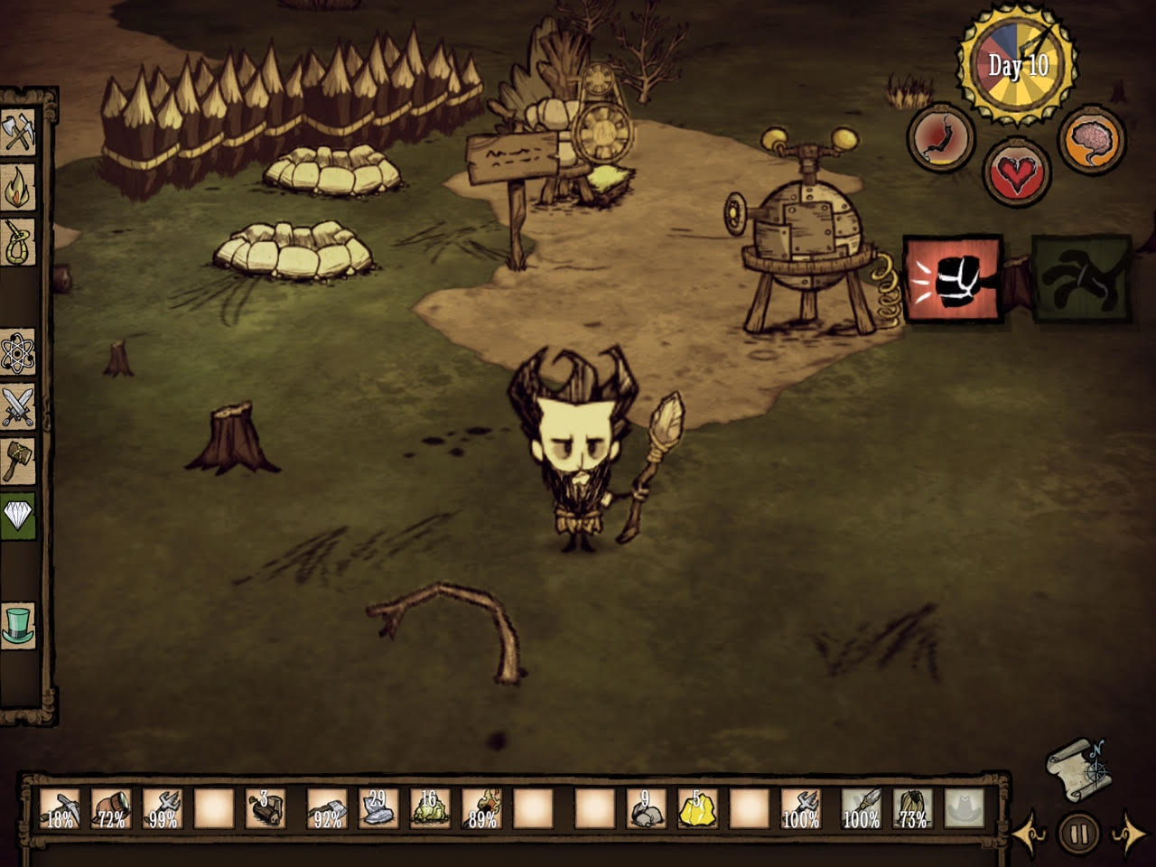 how to play dont starve