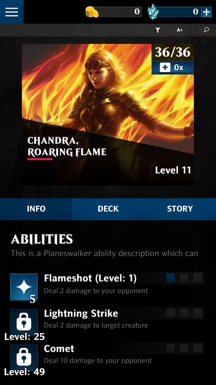Magic Puzzle Quest_Chandra Abilities