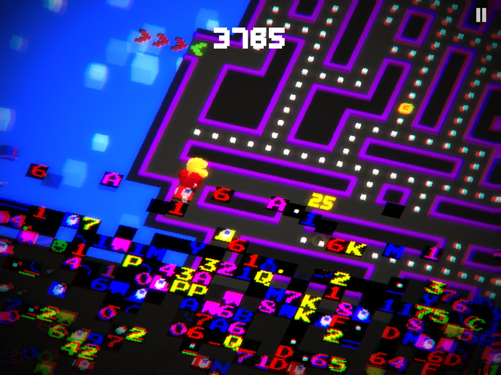 Pac Man 256 Glitch