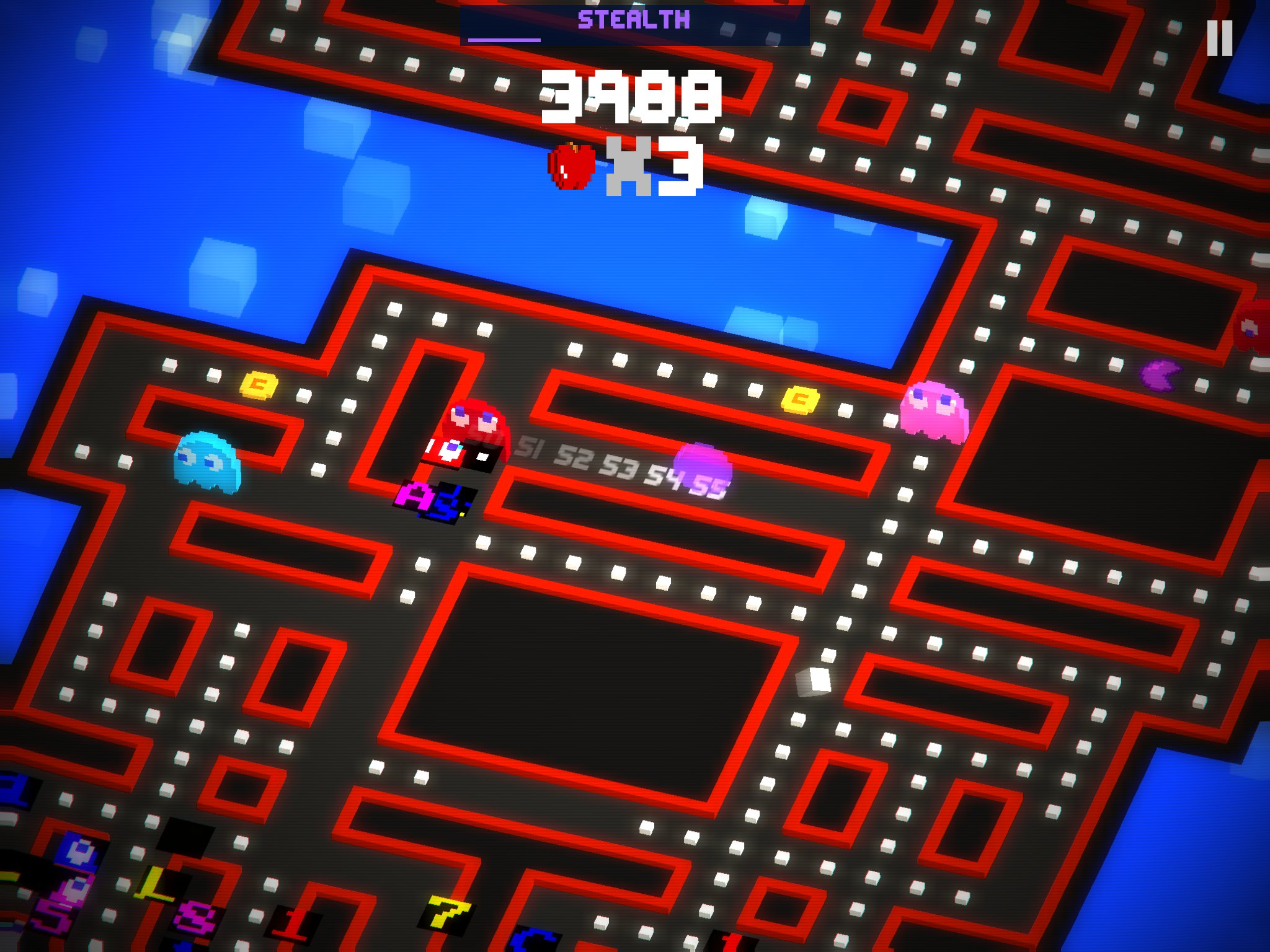 Pac Man 256 Stealth