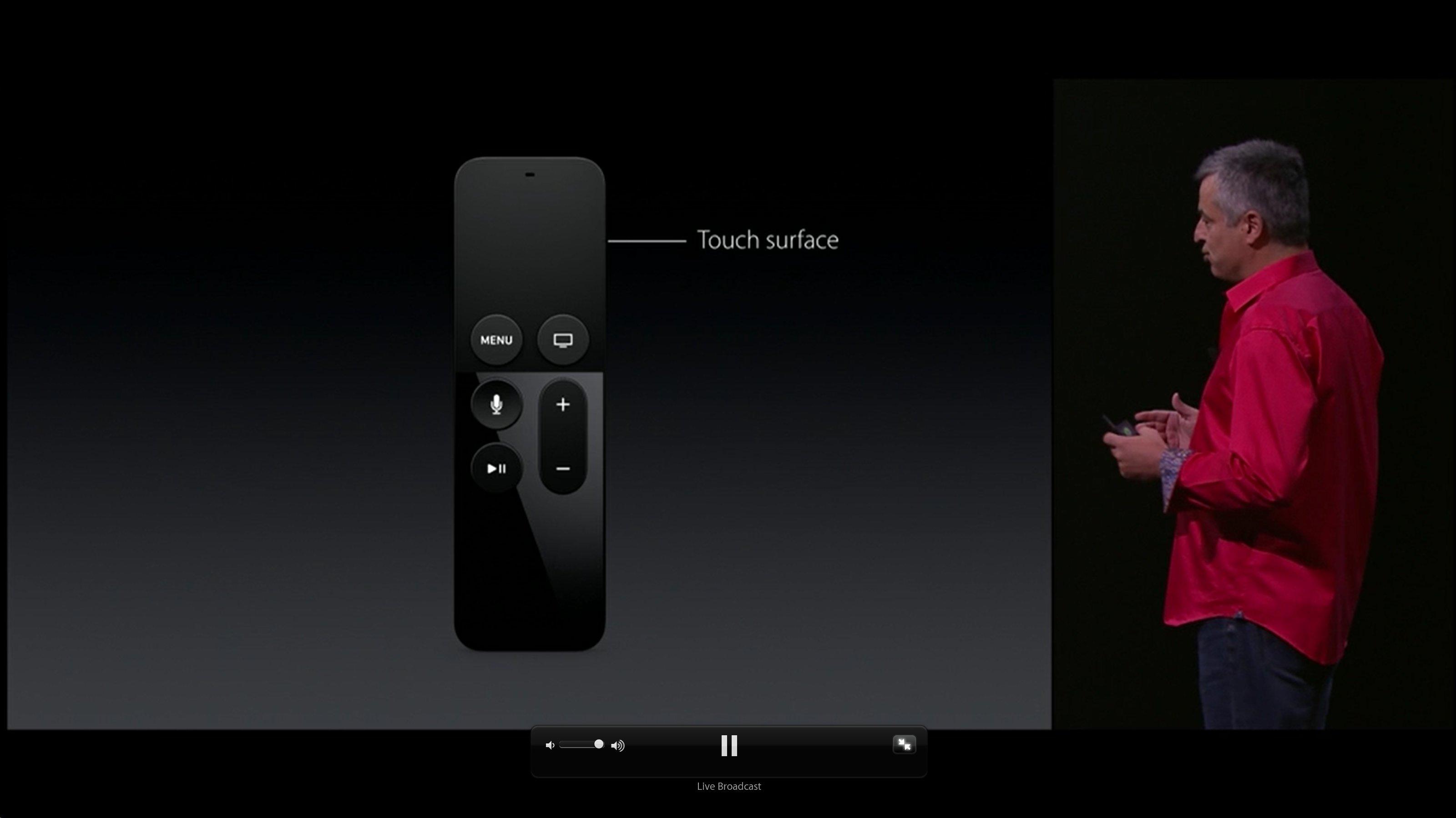 Apple TV New Remote