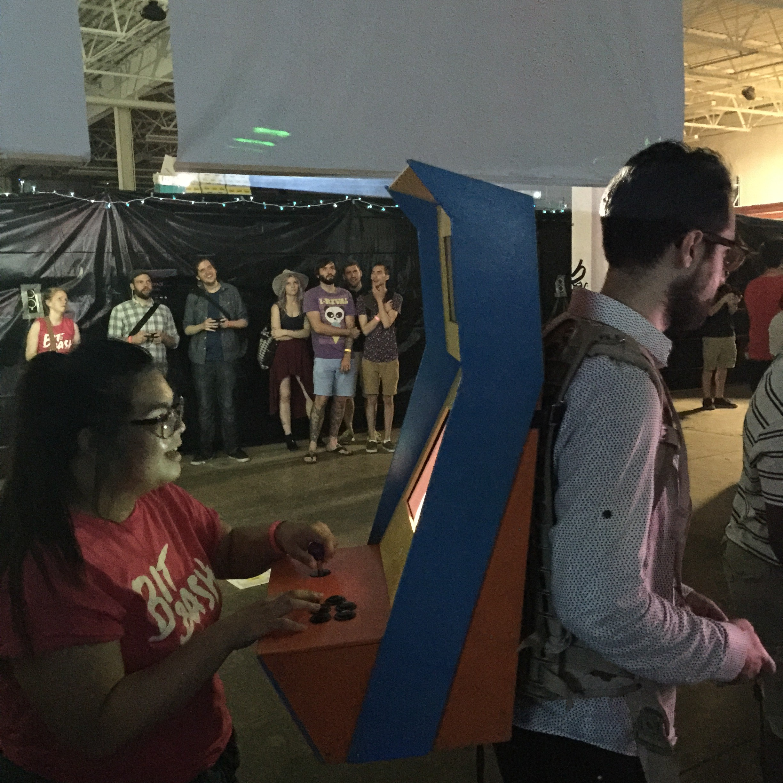 UCLA Game Lab Human Arcade Machine