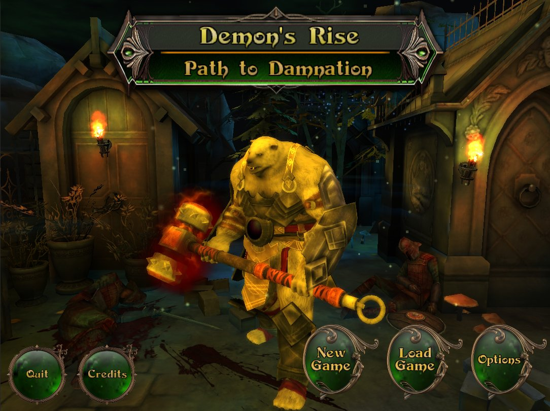 Fight as a Werebear and Become a Demon Lord in 'Demon's Rise: Path to Damnation'