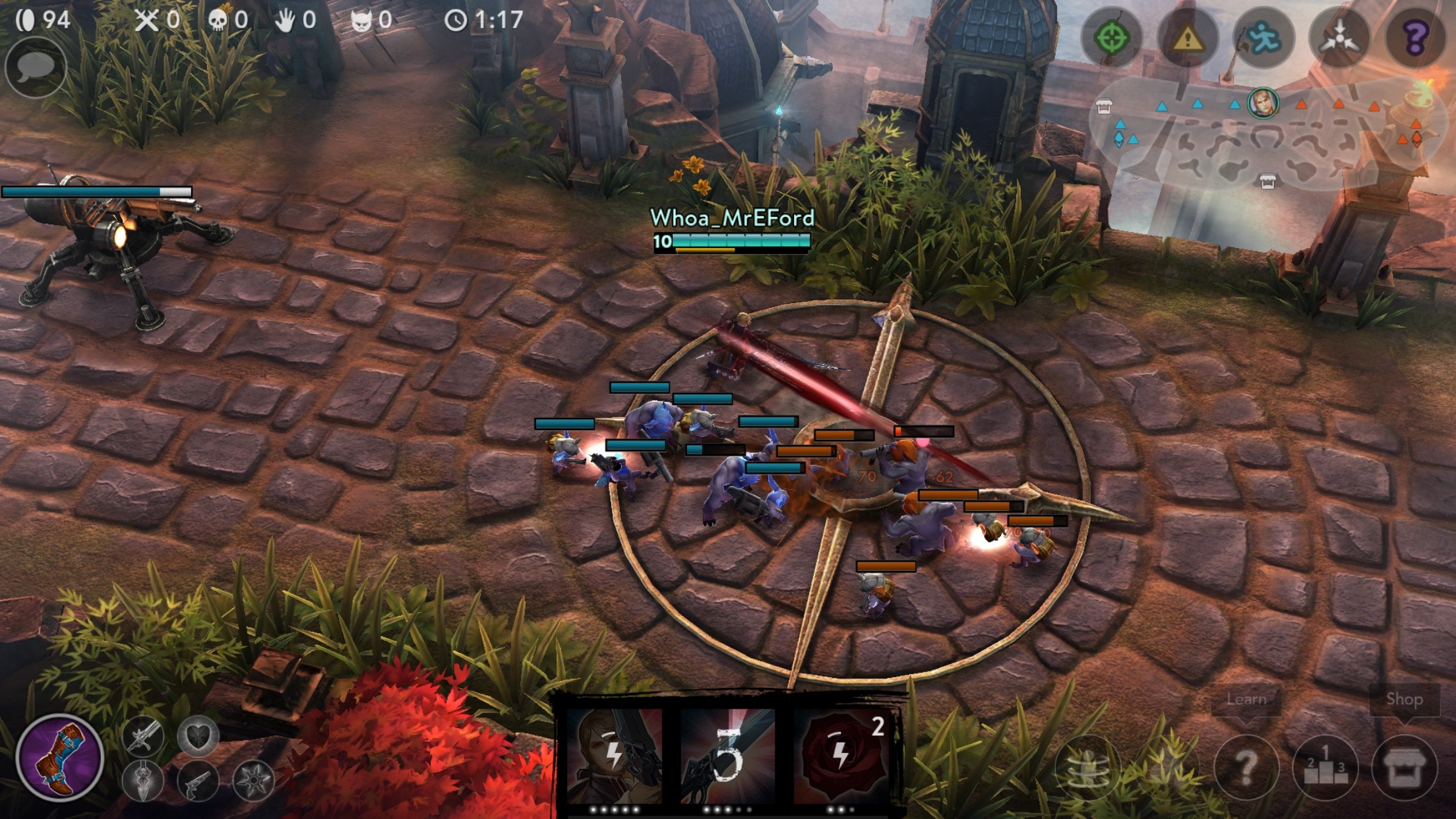 A Beginner's Guide to Blackfeather, the latest 'Vainglory' Hero
