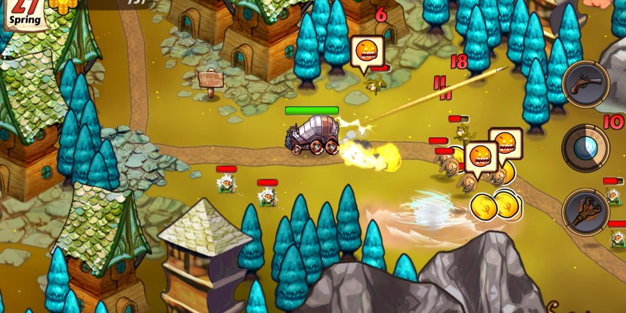 TouchArcade Game of the Week: 'Wizards and Wagons'