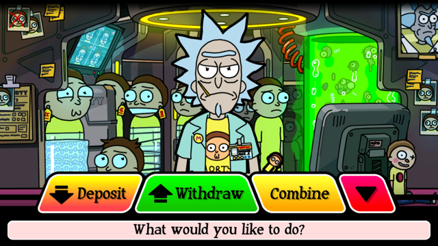 Pocket Mortys have some special features
