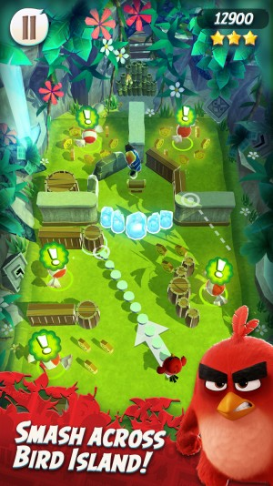 Angry Birds Action Soft Launch