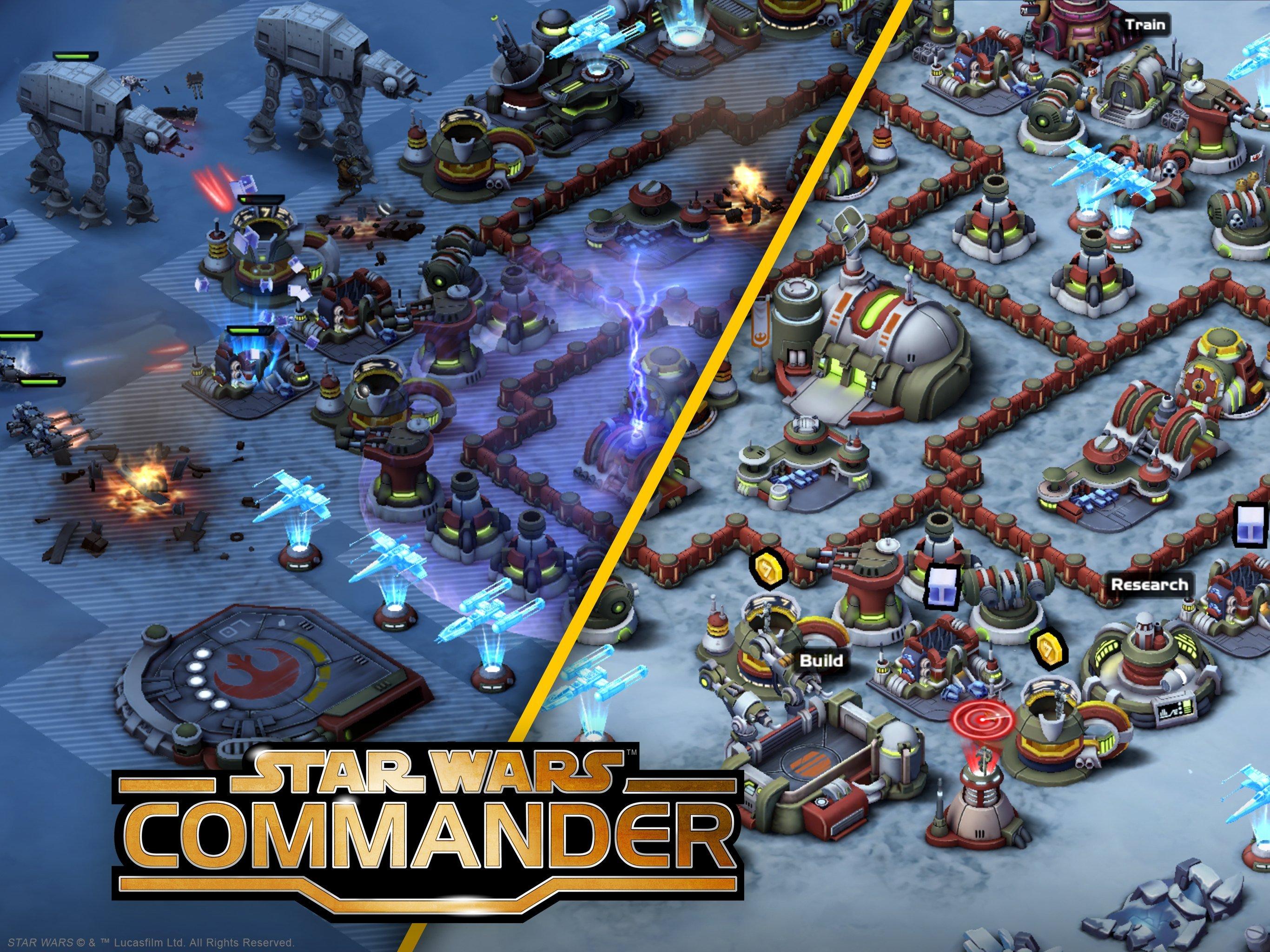 Star Wars Commander Night Raid