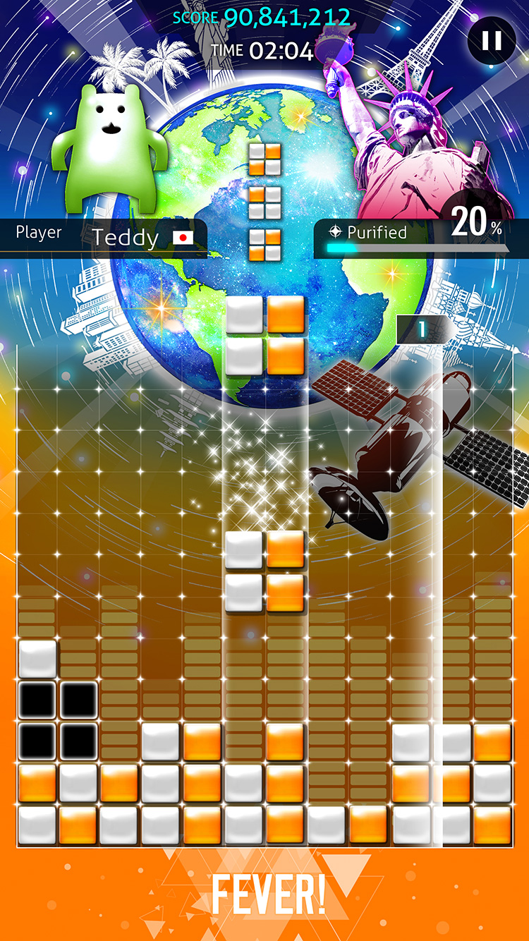 New 'Lumines' Games Coming to iOS in Both Paid and Free to Play Flavors