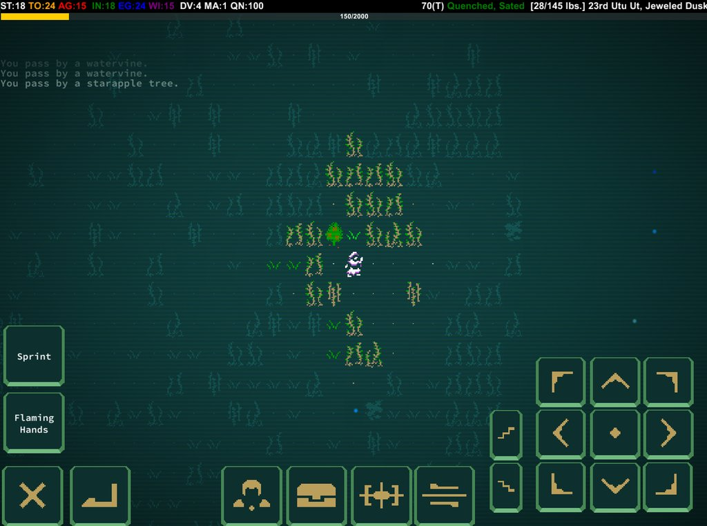 Caves of Qud Mobile