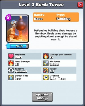Clash Royale Guide - Card Upgrade