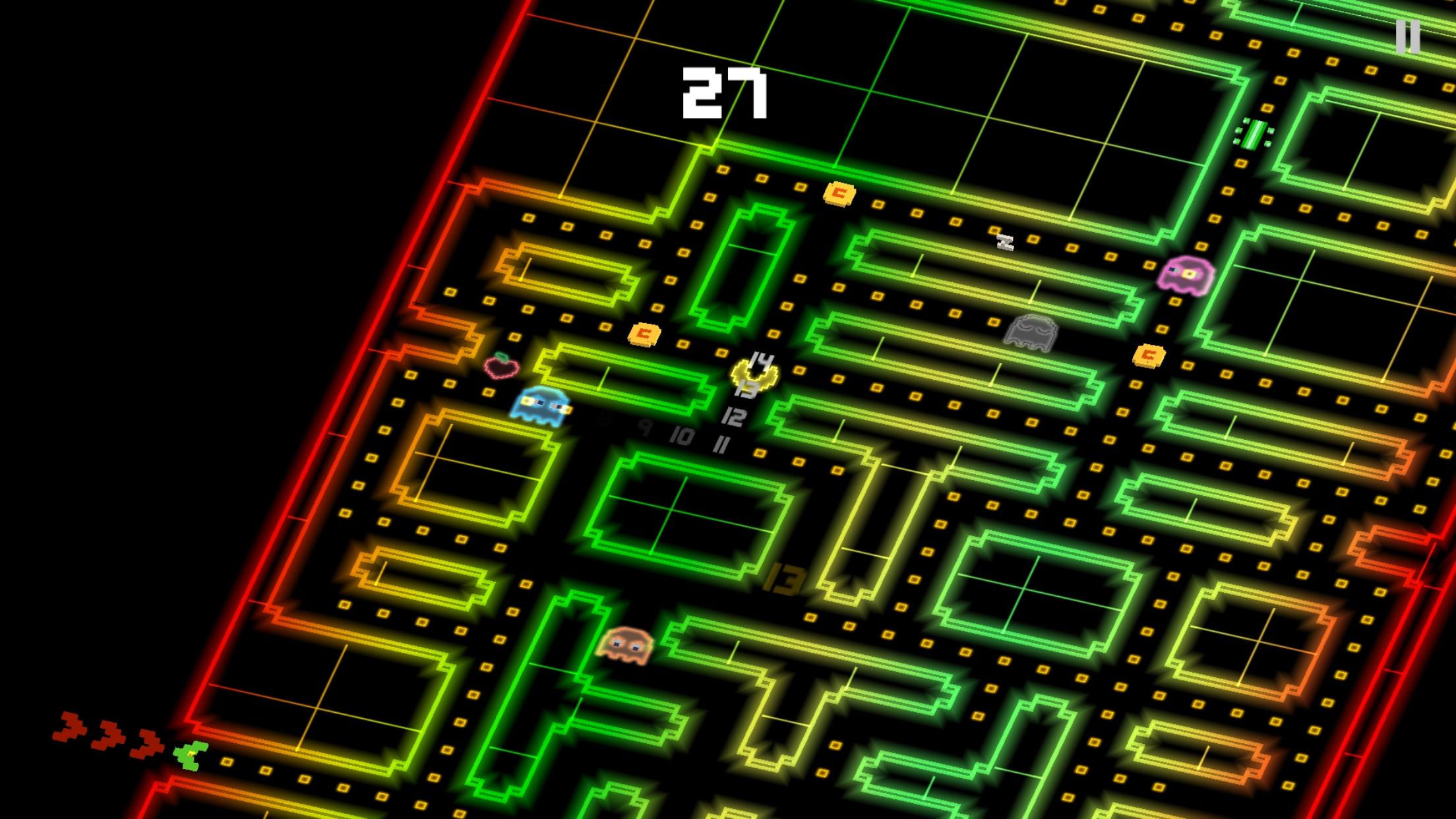 Pac-Man 256 DX Theme