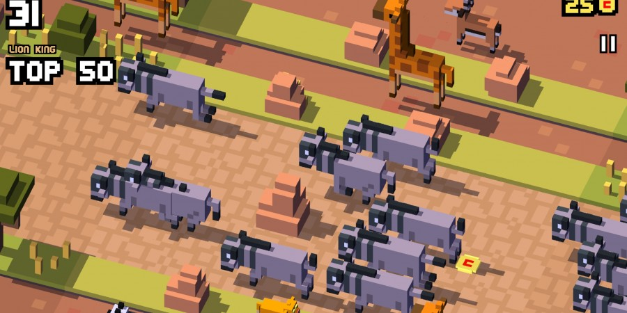'Disney Crossy Road' Review - Mickey Can't Beat a Train