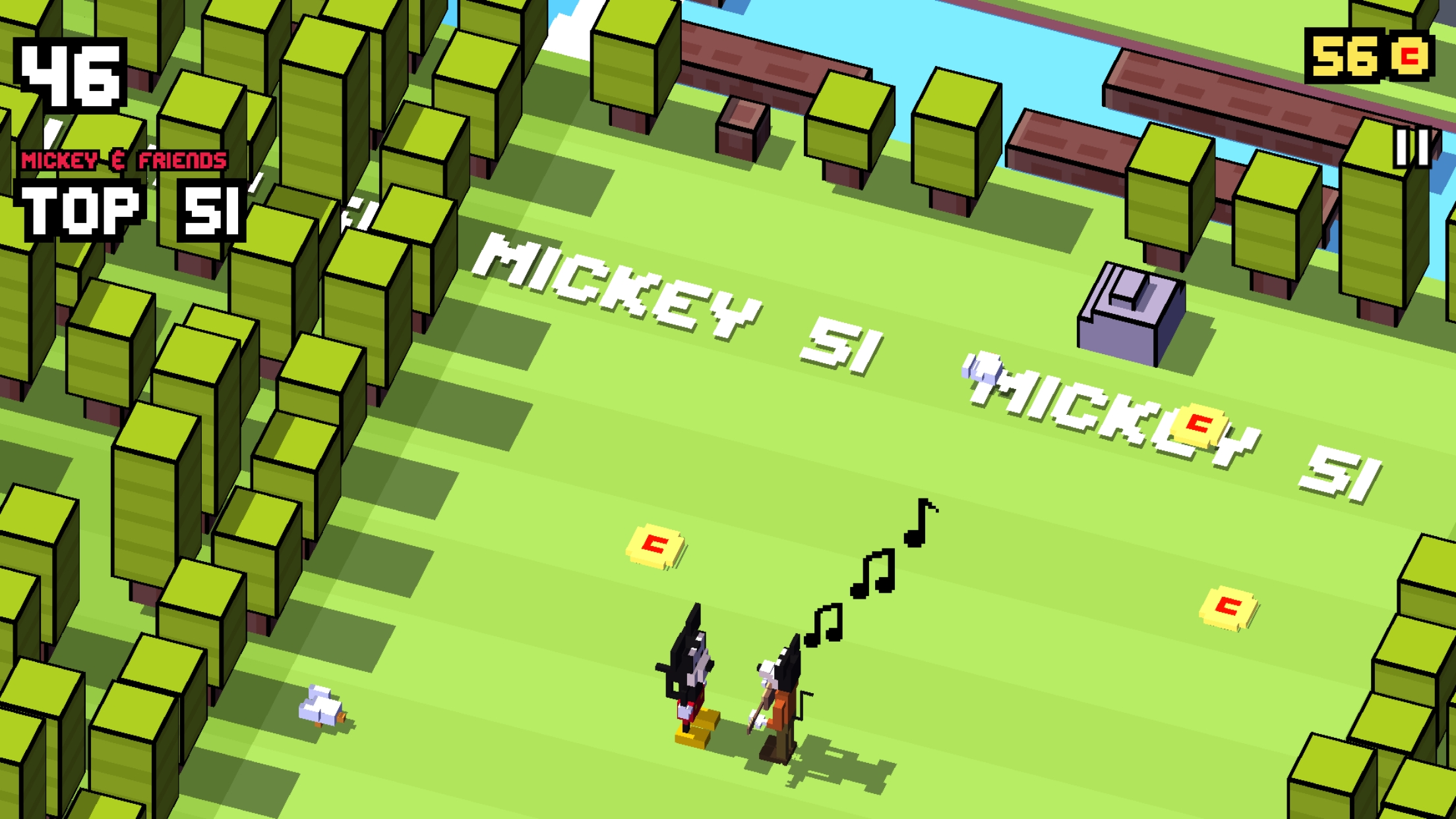 Disney Crossy Road - Mickey and Friends