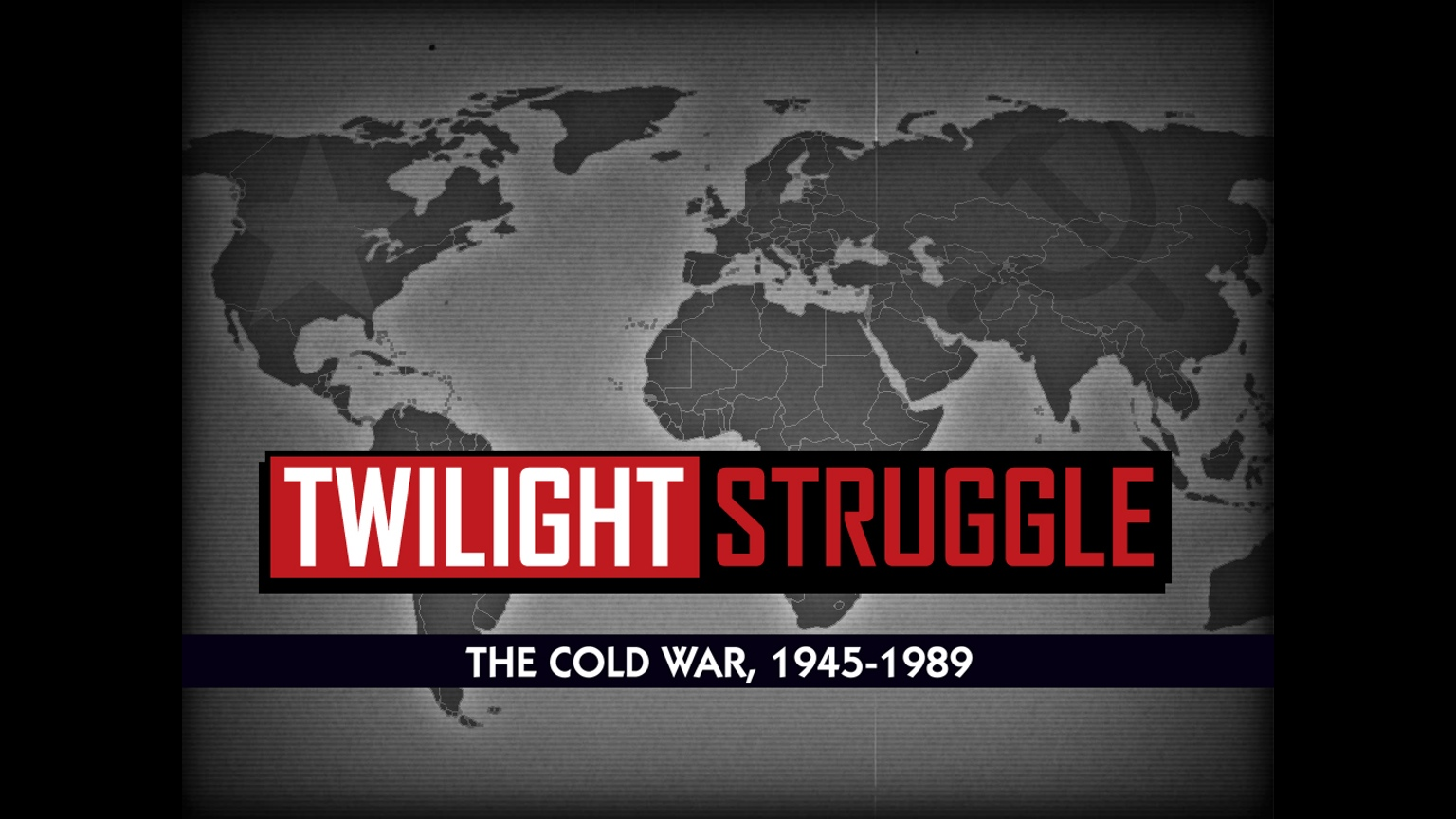 Out of Nowhere, 'Twilight Struggle Mobile', the Port of the Award-Winning Board Game, Has Hit the App Store