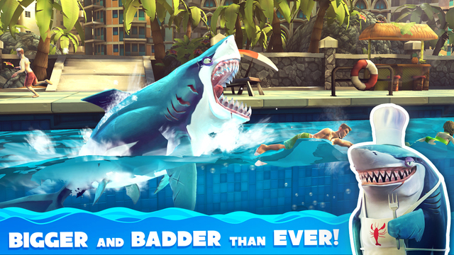 Out Now: 'Hungry Shark World', 'INKS.', 'Black Hole Joyrider', 'CarneyVale: Showtime', 'Final Meteor', 'Hexcells' Trilogy,  'Joan Mad Run', 'Super Smash the Office', 'Never Gone' and More