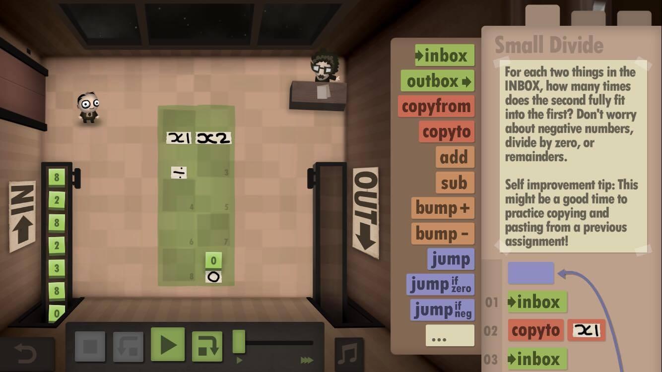 Human Resource Machine 4