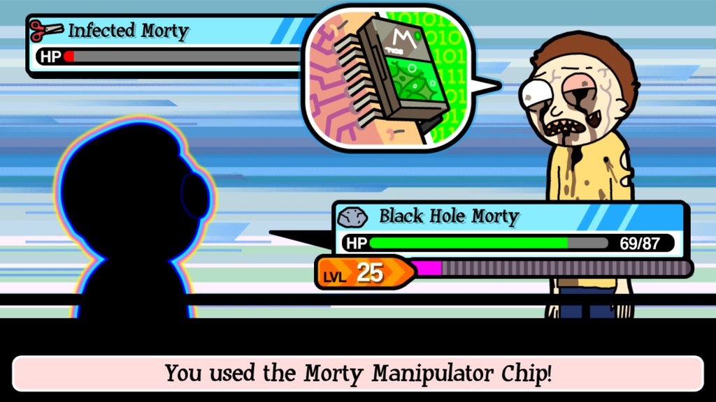 Update to 'Pocket Mortys' adds 11 new Mortys to the Mortydex