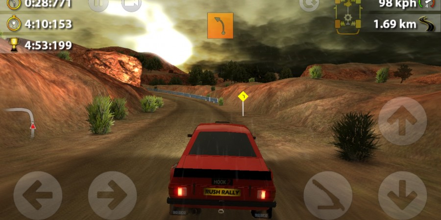 'Rush Rally 2' Review - The Best Rally Racer on iOS
