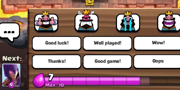 Supercell Doubles Down on Never Muting Emotes in 'Clash Royale'
