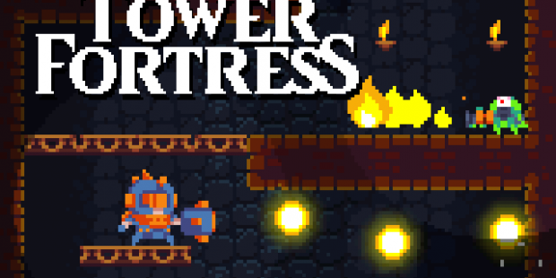 'Tower Fortress' Merges 'Metroid' and 'Downwell' to Make an Awesome Action-Platformer, Coming Soon