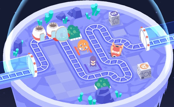 Build a Space Station's Train Routes in 'Cosmic Express'