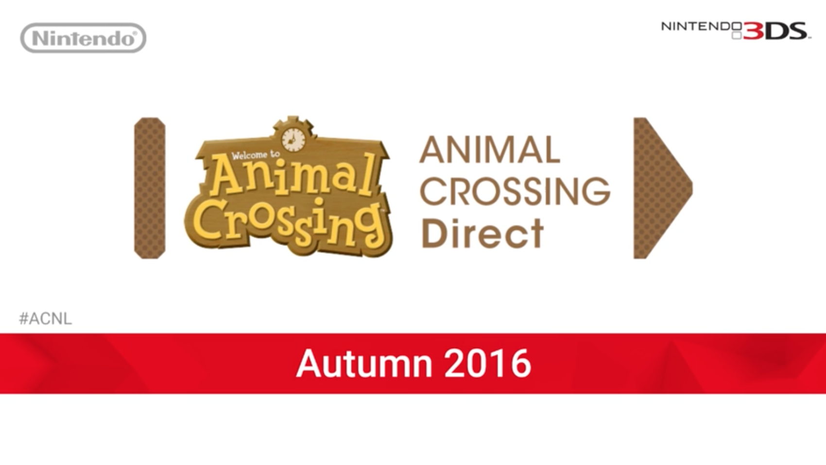 Animal Crossing Mini Direct Announced for November 2016