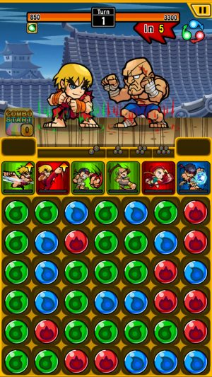 Street Fighter Puzzle Spirits 1