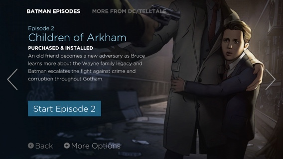 "'Batman - The Telltale Series' Episode 2 ""Children of Arkham"" Now Available on iOS"