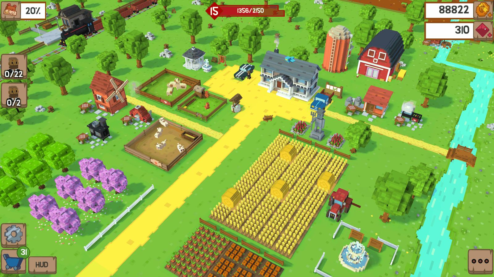 Voxel Farm Manager 'Blocky Farm' Will Soft Launch At The End Of May