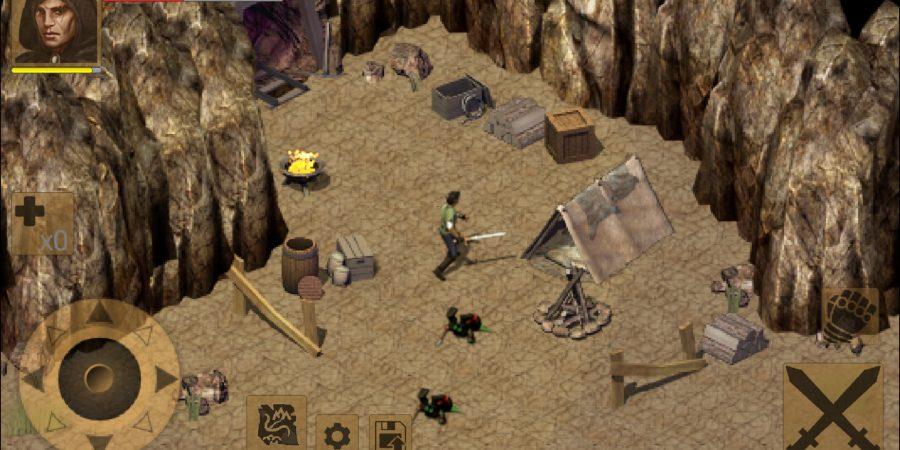 'Exiled Kingdoms RPG' Review - Chop 'til You Drop