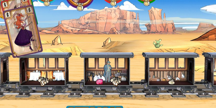 'Colt Express' Makes Robbing Trains Fun and a Treat for the Eyes