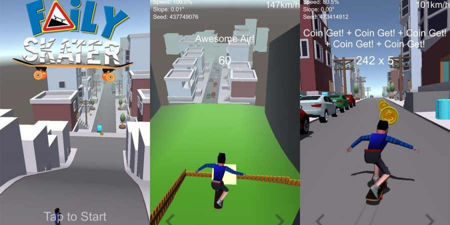 Spunge Games Needs Beta Testers for 'Faily Skater'