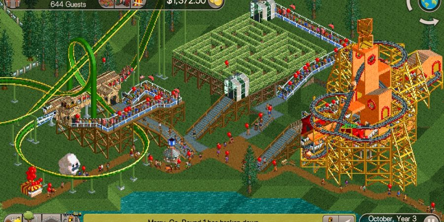 'RollerCoaster Tycoon Classic' Review - The Perfect Classic Ride