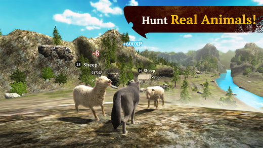 Become the Alpha of the Pack in 'The Wolf: Online RPG Simulator', Out Now on the App Store