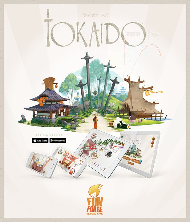 The Board Game 'Tokaido' Is Coming to Mobile Soon