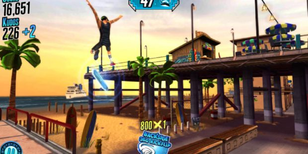 Soft Launched 'Nyjah Huston: #Skatelife' Uses Cards to Upgrade Tricks