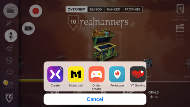 How to Natively Live Stream iOS Games on Twitch, YouTube, Mobcrush, and More in iOS 11 From Your iPhone or iPad Using ReplayKit 2