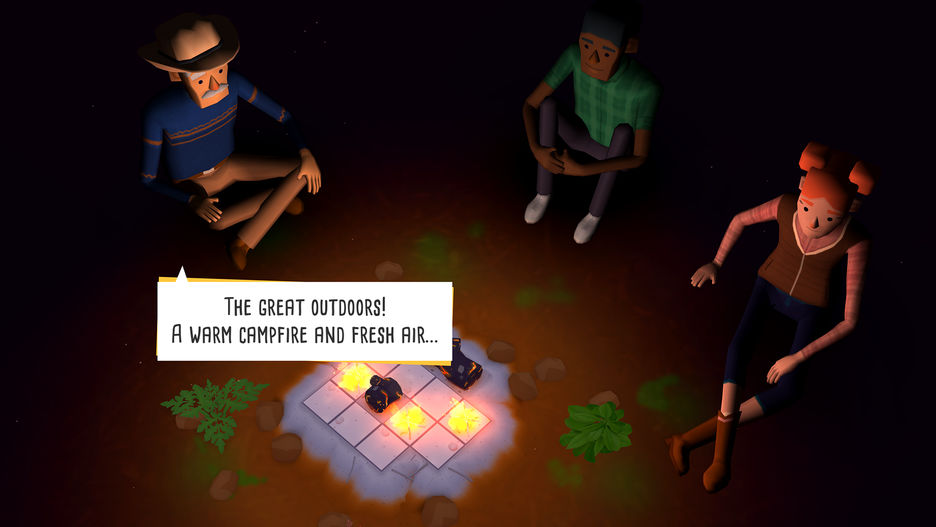 Developer Spotlight: Layton Hawkes and 'Campfire Cooking'