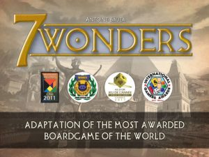 photo image '7 Wonders', the Classic Board Game, Has Finally Hit the App Store