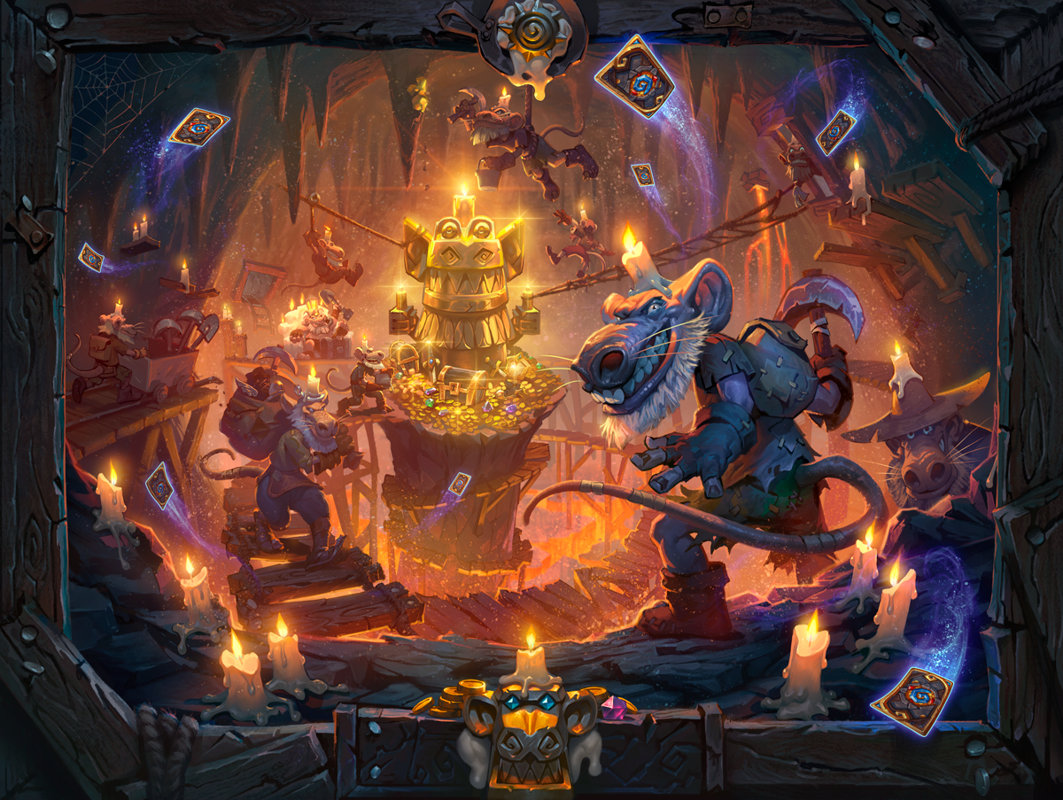 'Hearthstone' Gets New 'Kobolds & Catacombs' Expansion, Single-Player Mode