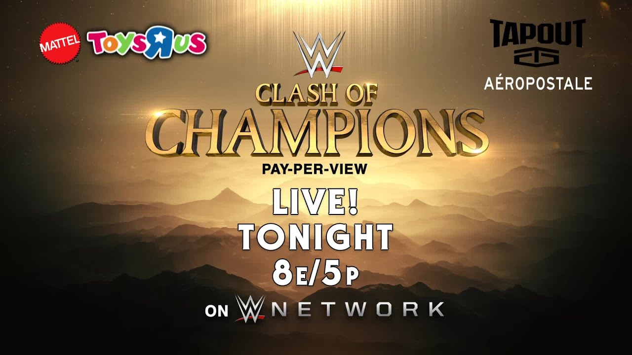 WWE Clash of Champions Live Stream Starts Soon, Hop in 'WWE Mayhem' to Play Along During the First Live Event