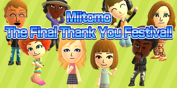 "Nintendo is Shutting Down 'Miitomo' on May 9th, Final ""Thank You"" Event Live Now"