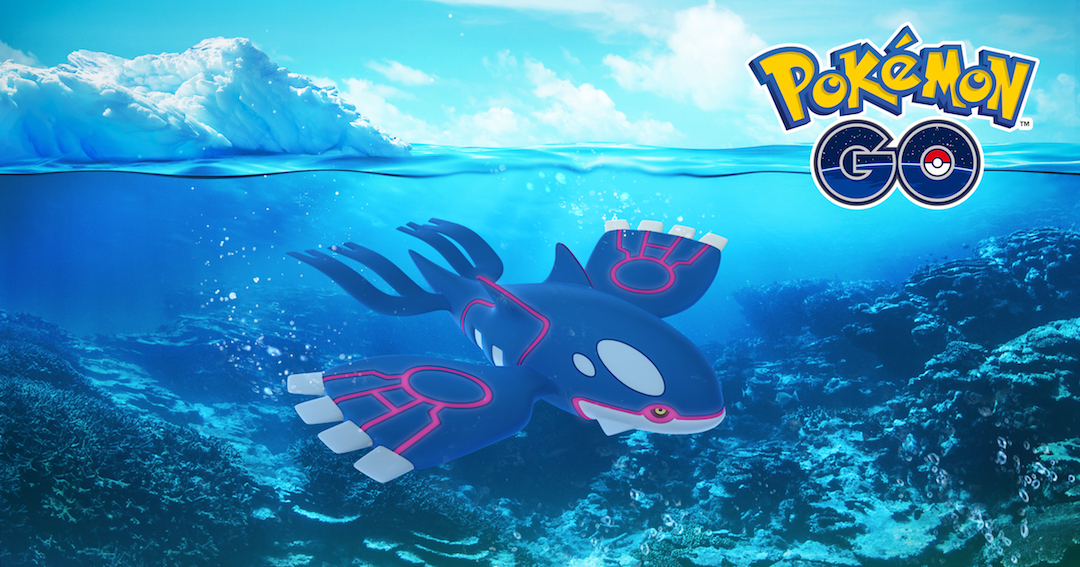 photo image How to Catch Legendary Pokemon Kyogre in 'Pokemon GO'